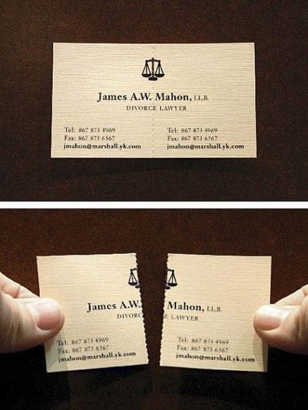 Cartão de visitas da empresa 5