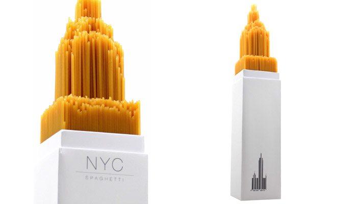 embalagem nyc spaghetti