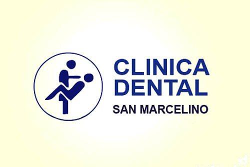 logo clínica dental san marcelino