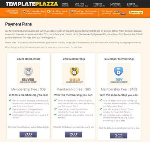 10 Exemplos Incríveis de Páginas de Planos e Preços 6
