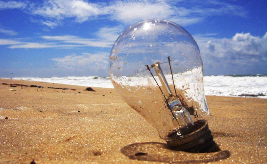 Ideias que morrem na praia
