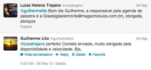 Twitter Luiza Trajano