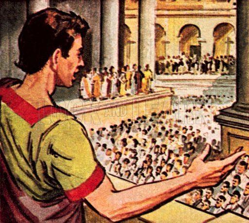 Discursos em praça pública: primeira forma de comunicação como marketing