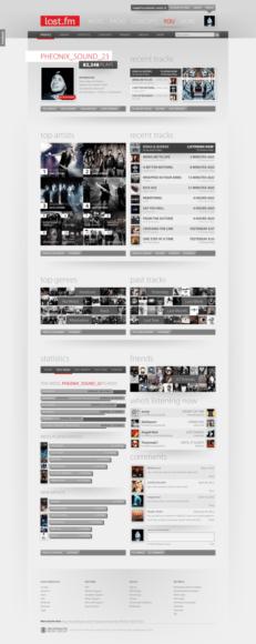 10 Exemplos de Re-design Conceituais de sites famosos feitos por usuários comuns 2