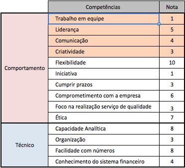 competencias comportamentais e tecnicas