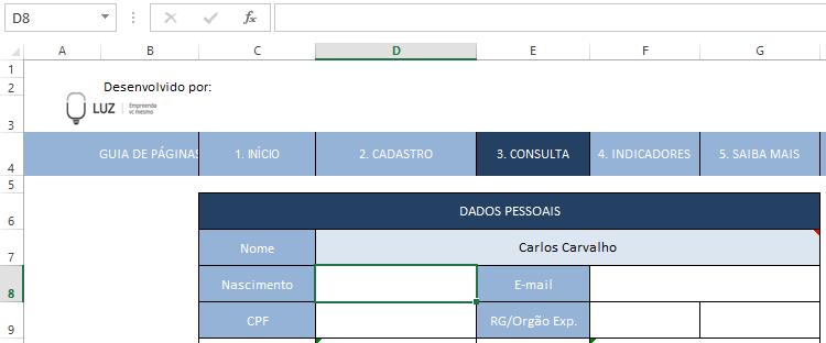 usando procv para adicionar data de nascimento
