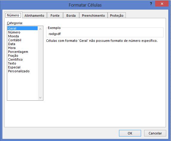 Atalho de Teclado para Formatação no Excel