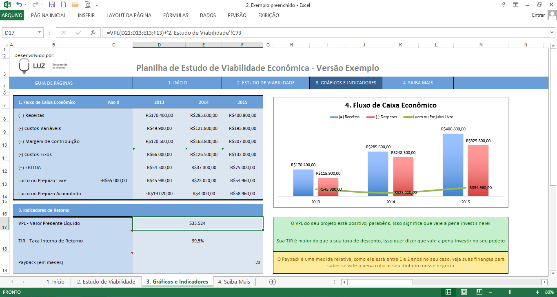 Cálculos financeiros avançados no excel