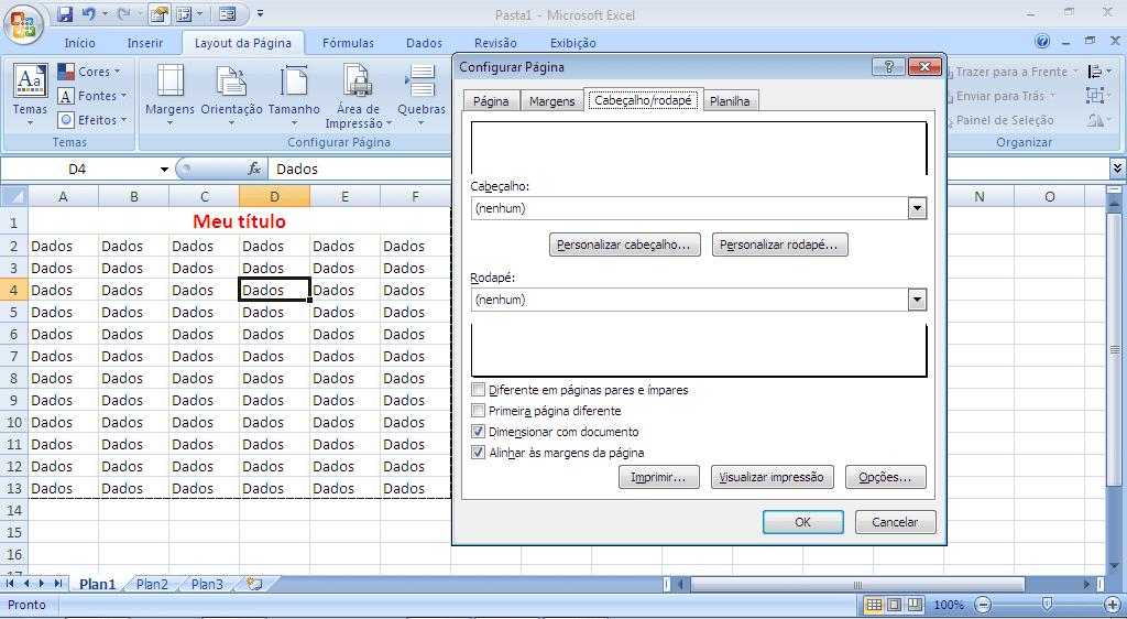 Imprimir Relatório no Excel - parte 14