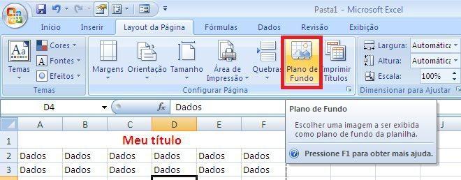 Imprimir Relatório no Excel - parte 8