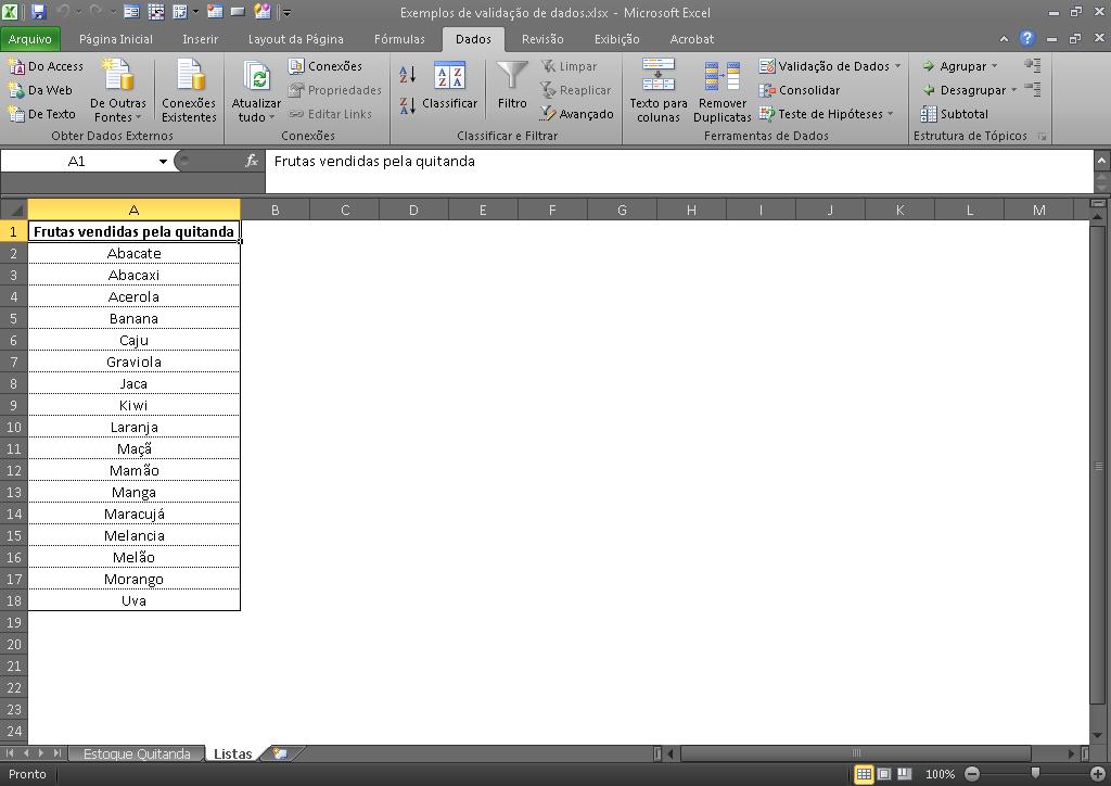 Verwenden der Dropdown-Liste in Excel mit Datenüberprüfung - Blog LUZ