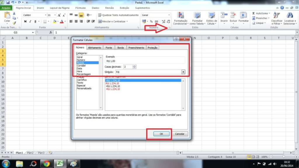 All about formatting cells in Excel 1