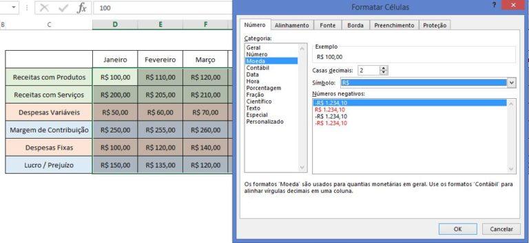 Como Transformar Valores no Excel de Real para Dólar, Euro ou Kwanza - Blog LUZ
