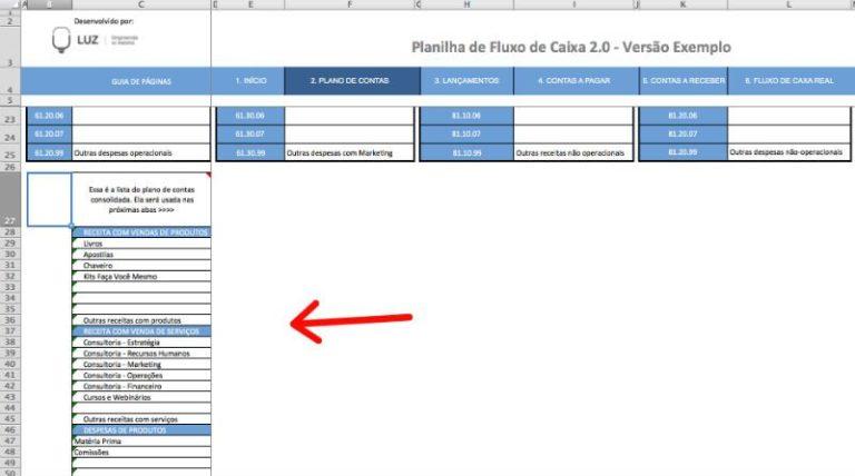 Plano de Contas 2 - Edição 1