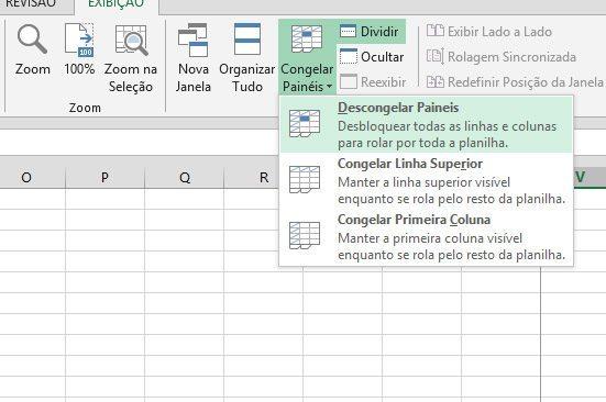 Wie man Panels in einem Arbeitsblatt einfriert (Excel, Google und ...