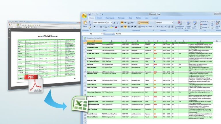 how to build a database in excel pdf
