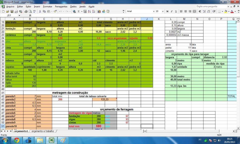 3 Ugly Spreadsheet