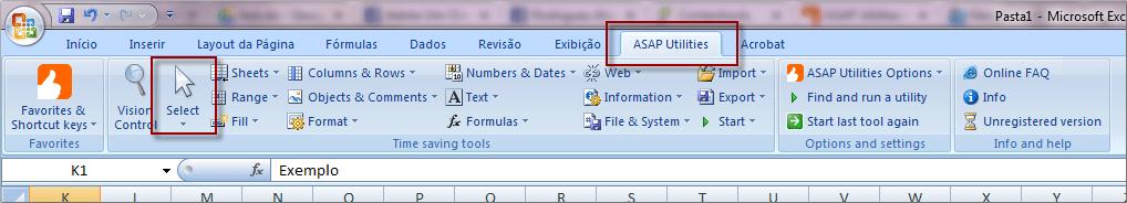 Como estender a sua seleção até o fim do arquivo sem rolar a tela