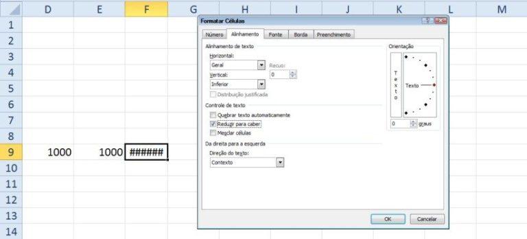 Fórmulas: localizando e corrigindo erros