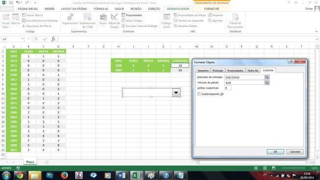 Create graphics with combo box - Blog LUZ