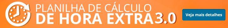 Banner planilha de calculo de hora extra