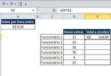Como usar alça de preenchimento no Excel