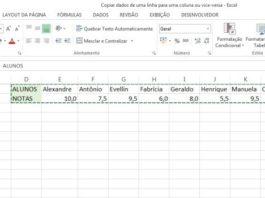 Aprenda cómo pasar datos de una columna a una fila y viceversa