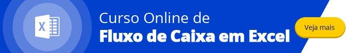 Curso Online de Fluxo de Caixa em Excel