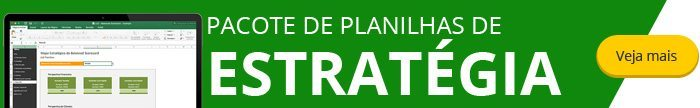 Pacote de Planilhas de Estratégia Empresarial