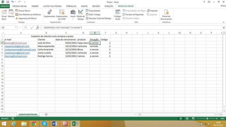 Introdução ao VBA no Excel