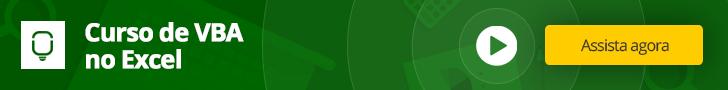 Curso de VBA em Excel