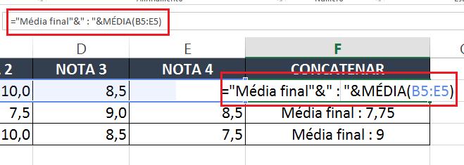 Conheça 5 aplicações da função concatenar no Excel