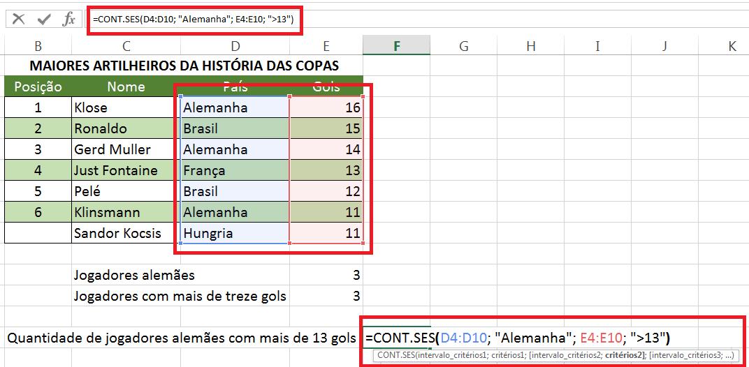 Descubra como usar as funções contar no Excel