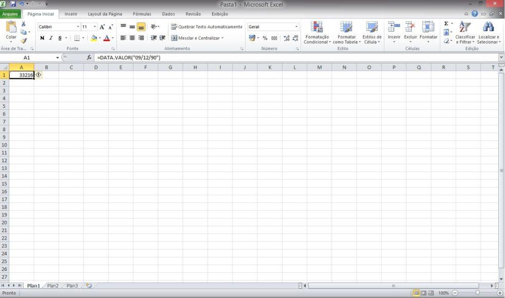 Usando Funções de Data no Microsoft Excel