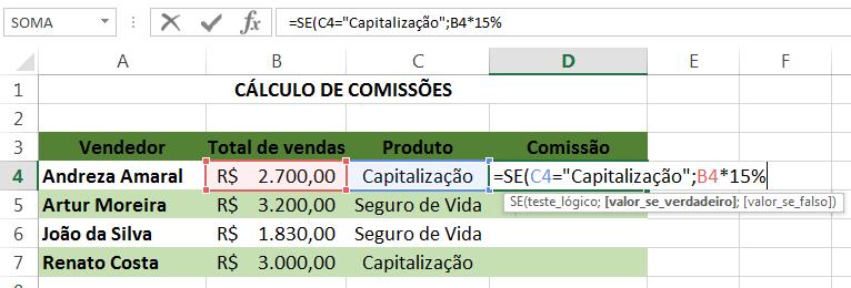 Saiba como usar a função SE e faça planilhas mais elaboradas no Excel