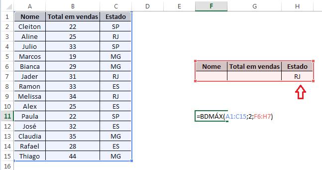 Melhores Funções para Bancos de Dados em Excel
