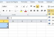 Como mesclar células no Excel
