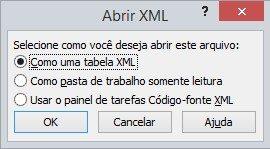 Como Importar e Editar um Arquivo XML para o Excel