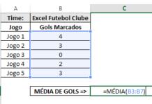 Como usar Estatística no Excel