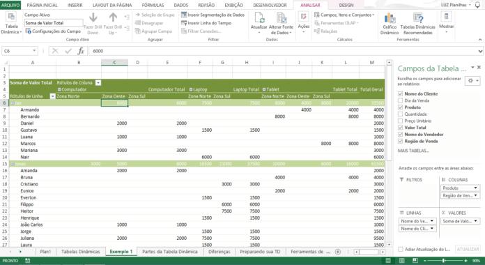 Crear Informes En Excel Blog Luz