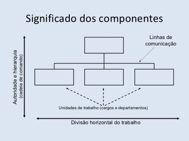 Modelos de Organograma - Significado dos itens do Organograma