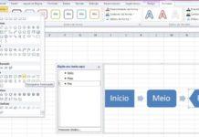 Fluxograma de Processos no Excel