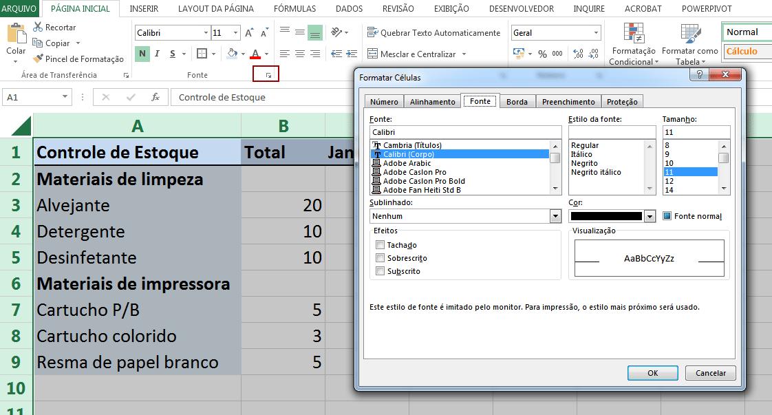 Como Travar Célula no Excel