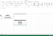 How to do rounding in excel