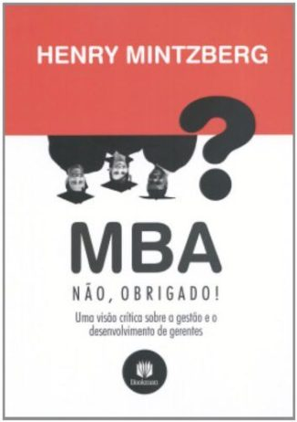 MBA, No Thanks - Book Cover