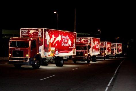 Caravana da felicidade Coca Cola