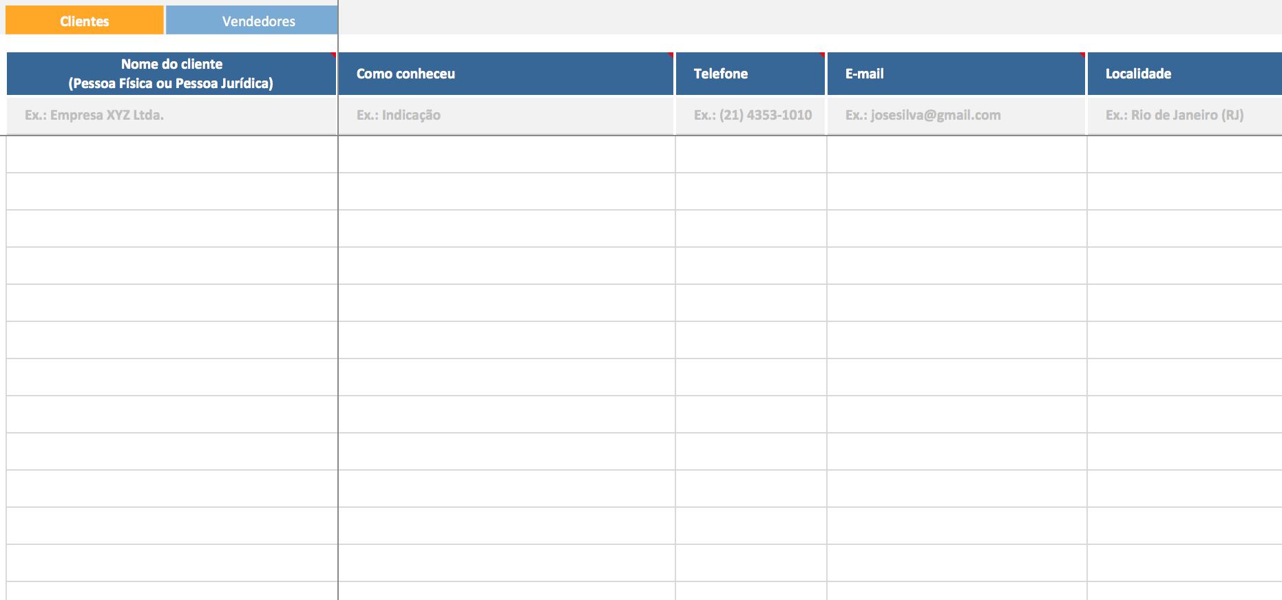 CRM - Cadastro de Clientes