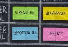 Análise SWOT em reuniões
