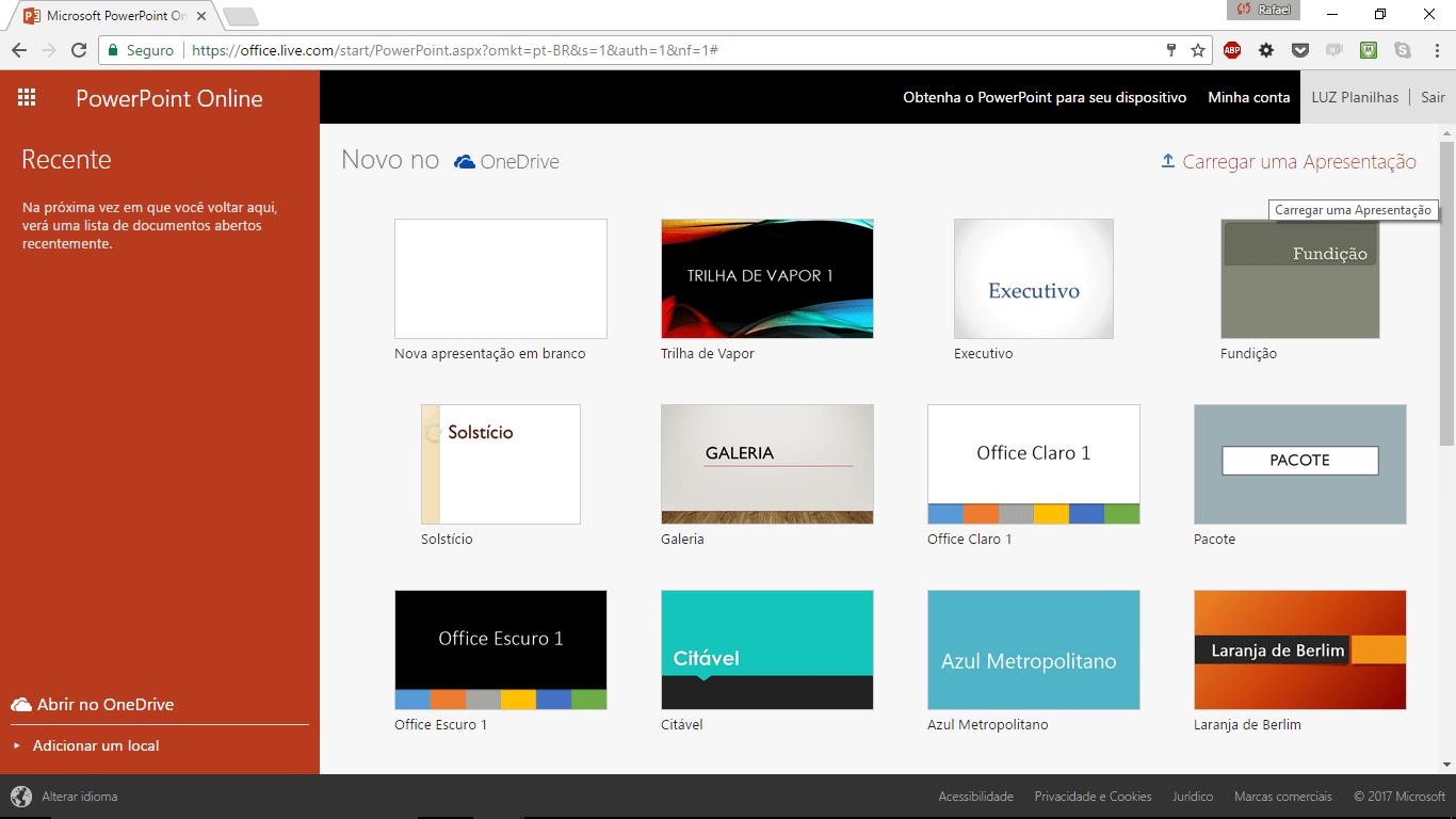 como-fazer-slide-online-abrir-novo-powerpoint-online