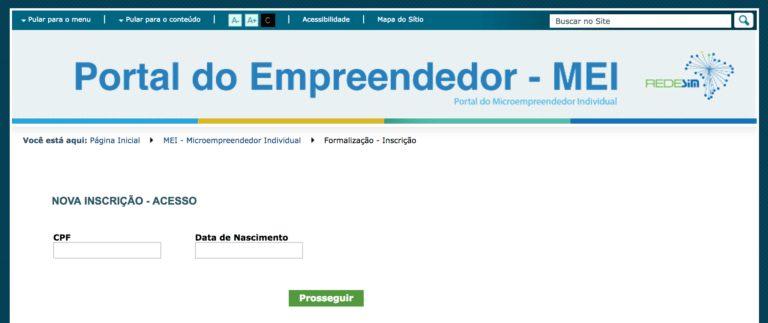Formalização como MEI - Microempreendedor Individual
